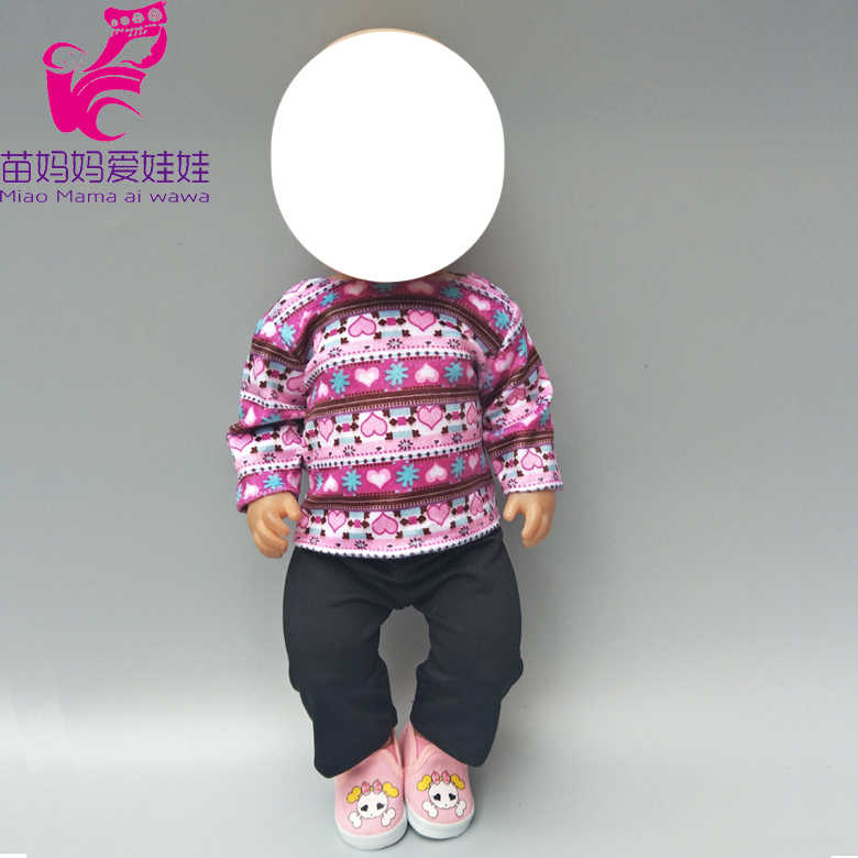 """Roupas estabelecidas para 43 centímetros boneca também serve para 18 """"menina boneca de brinquedo peixe terno Pijama roupa do bebê presentes"""