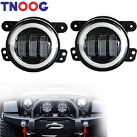 2pcs 4 Inch 30w Led Fog Lights for Jeep Led Fog Lamps Bulb Auto Led Headlight Driving Off road Lamp for Jeep Wrangler