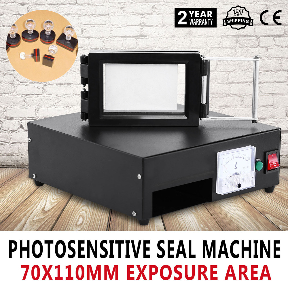 Photosensitive Seal Machine 2 X Exposure Self Inking Flash Stamp Seal Maker Flash Stamp Machine Selfinking Stamping Making цена