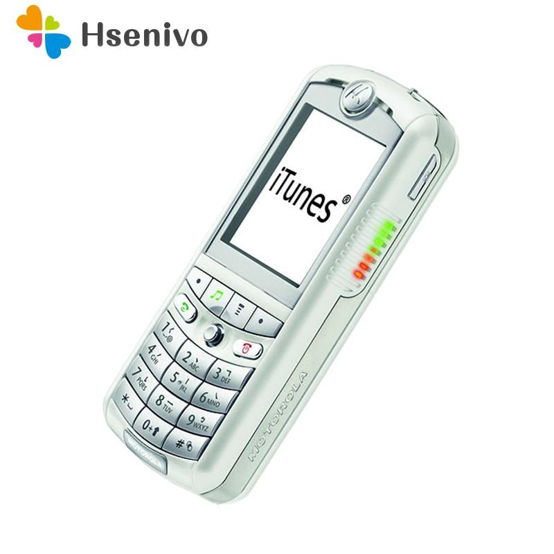 100% Good Quality Refurbished Original Motorola E1 GSM Bluetooth FM Radio Mobile phone one year warranty + Free shipping mobile phone
