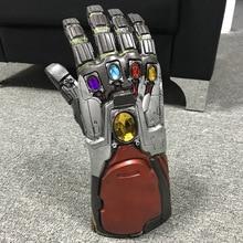 The Avengers 4 Endgame Marvel Superhero Hulk  Arm Thanos Latex Gloves Iron Man Infinity Gauntlet Kids Adult Action Figure Toys