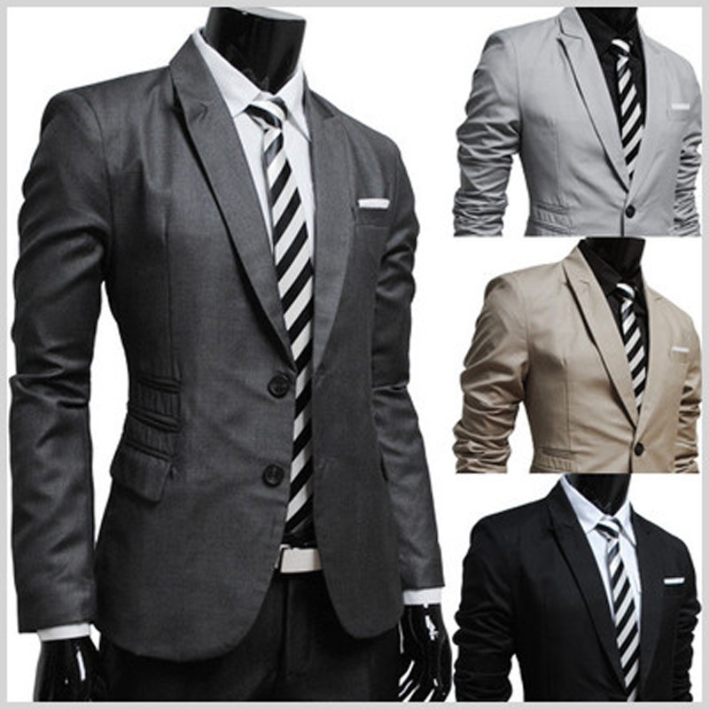 England Style British Wedding Party Prom Evening Slim Fit Men Suit Jacket Casual Blazer Formal Business Jackets Chalecos Hombre In From S