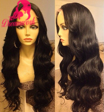 8A 180% density body wave virgin brazilian full lace wigs with baby hair glueless lace front human hair wigs for black women