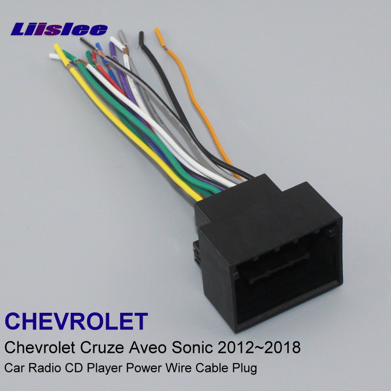 Plugs Into Factory Harness For Chevrolet Cruze Barina 2012 2018 Radio Wire  Adapter Stereo Cable Male DIN To ISO Cables, Adapters & Sockets  -  AliExpress   Chevrolet Radio Wiring Harness Adapter      AliExpress