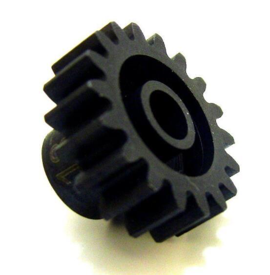 Hot Racing NSG19M1 19t Steel Mod 1 Pinion Gear 5mm