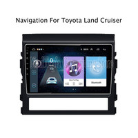 9inch Android 9.0 Car Radio GPS Navigation Multimedia Stereo DVD Player for Toyota Land Cruiser 2016 2017