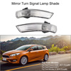 Pair Of Mirror Turn Signal Corner Light Lamp Cover Shade Screen For Ford Focus II 2