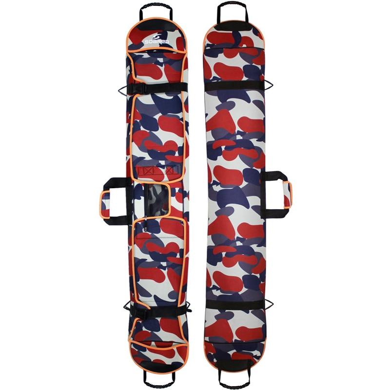 145-155 cm sacs de Snowboard de Ski matériel de tissu de plongée sac de planche de Ski Snowboard résistant aux rayures étui de protection de plaque Monoboard - 4