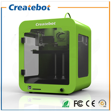 Createbot Super Mini Light Weight Metal Frame 3D Printer Kits Single Extruder LCD Screen Not DIY With 85*80*94mm Build Size