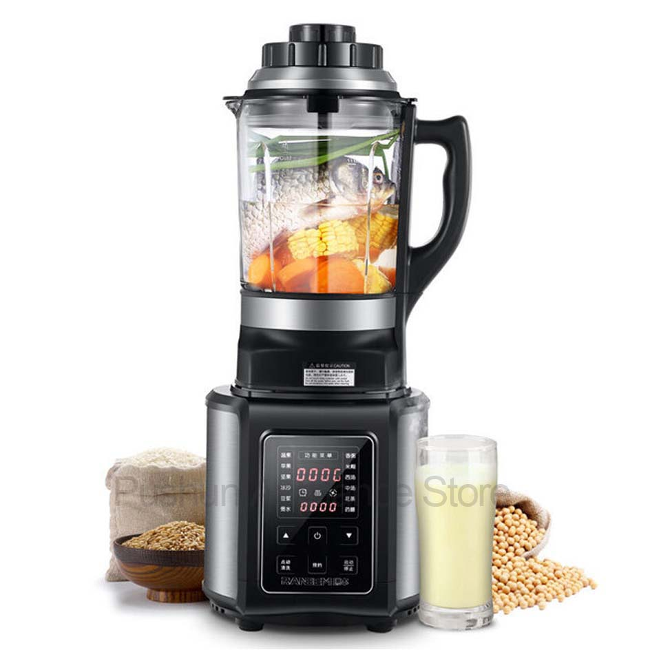 Heavy Duty stainless steel Blender Mixer Food Processor Juicer Fruit and vegetable juice Soy milk Ice Smoothie Machine 220v