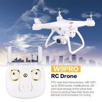Attop W9PRO 4G Wifi GPS 720P/1080P FPV Camera Real time Transmission RC Drone Quadcopter With Headless Mode Altitude Hold