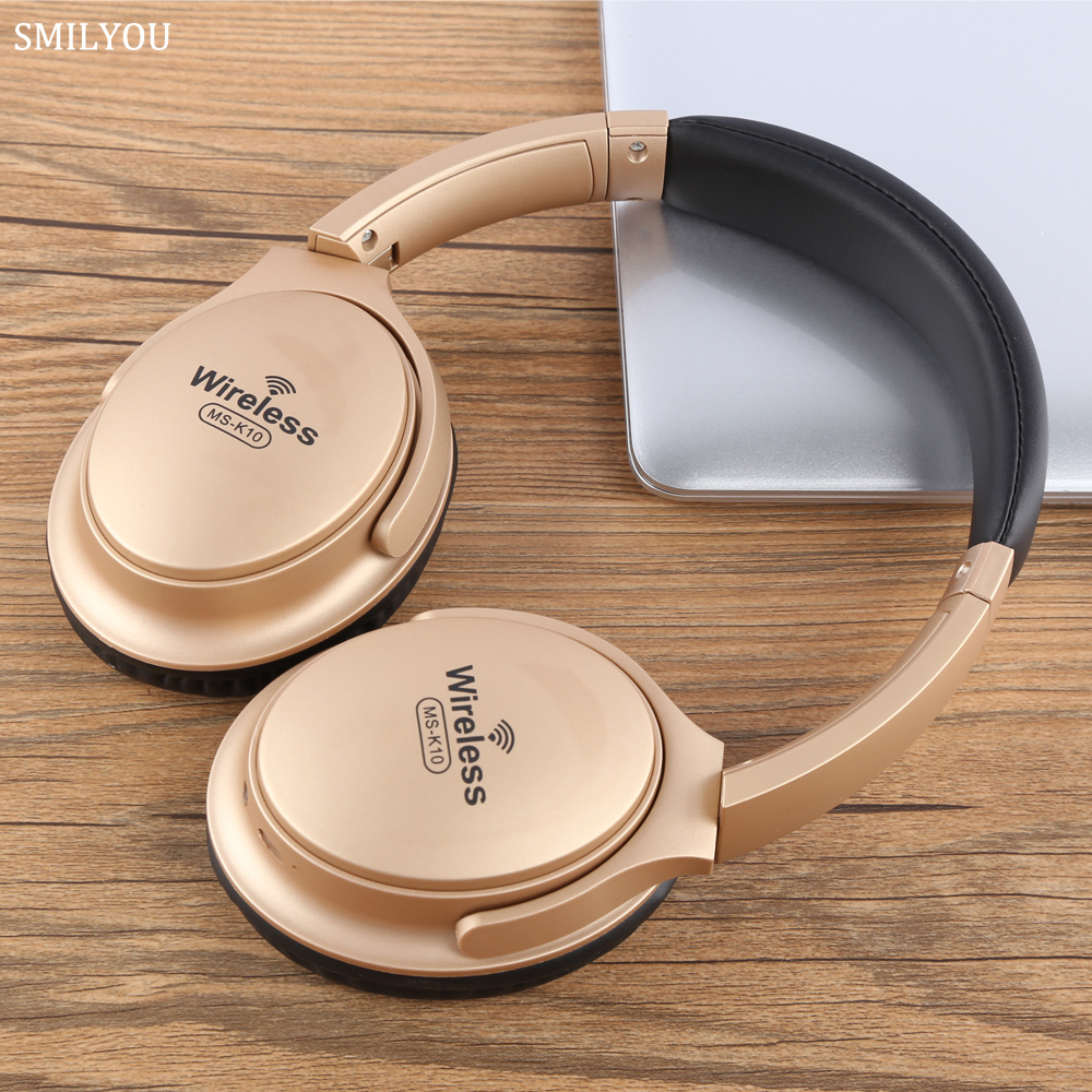 MS-K10 Bluetooth Earphone Sweat Proof Noise Cancelling Wireless Earphones Sports Bass Headphone Headset With Mic For Smartphones