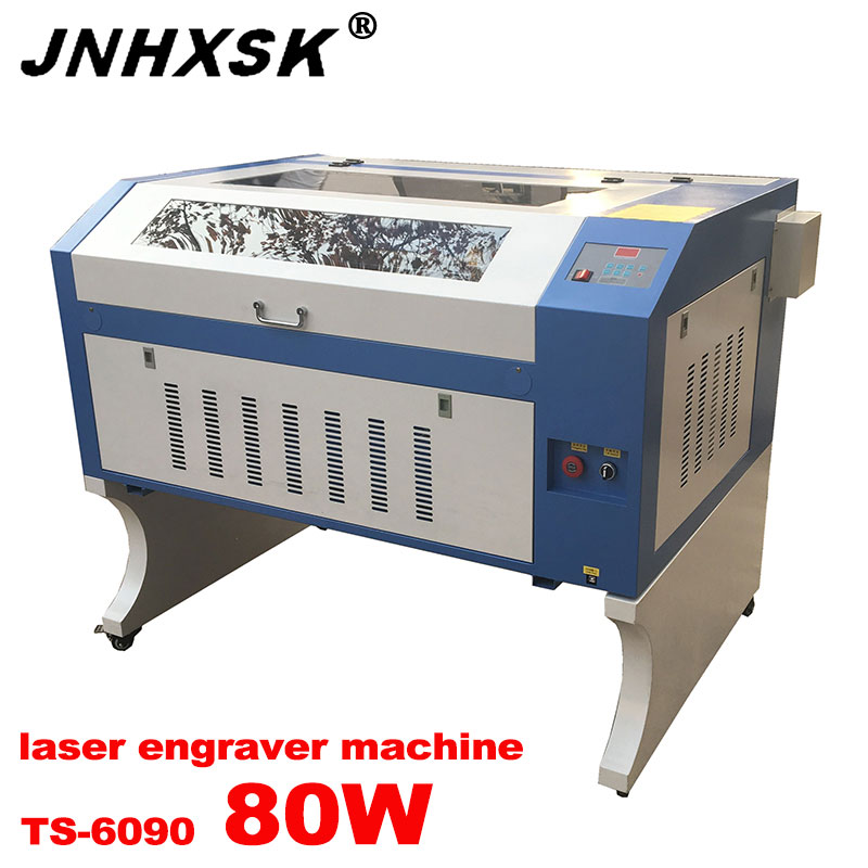 CO2 Non-metal TS6090 M2 Control System 6442S 80w Laser Cutting And Engraving Machine 600*900mm For Acrylic,plastic And Wood