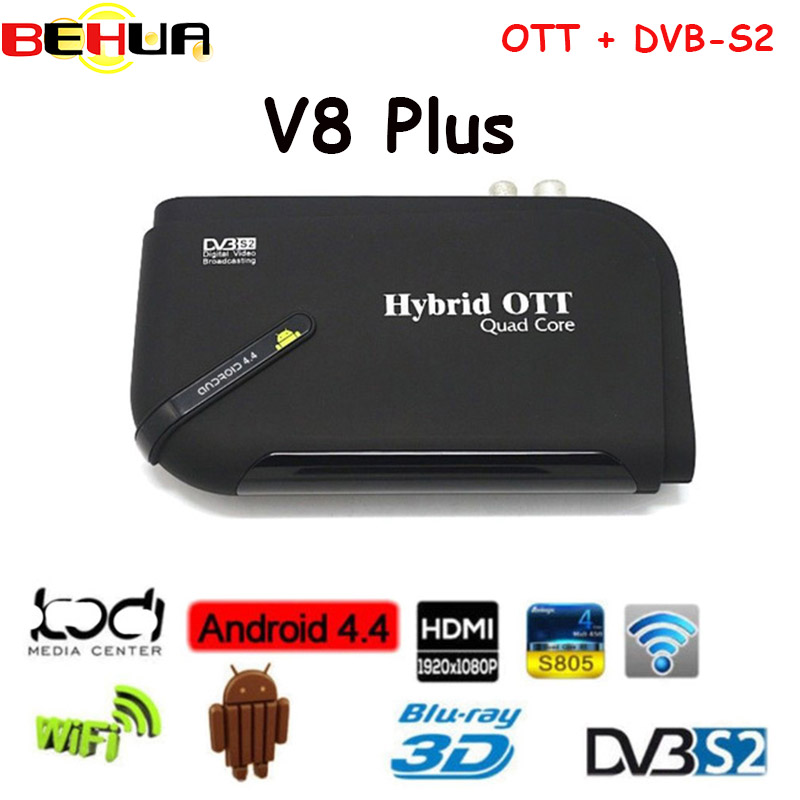 1080P DVB-S2 HD Digital Satellite Tv Receivers Recorder smart Android tv Box Media Player Support CCCam Newcam Wifi TV decoder i box rs232 dvb s satellite smart sharing nagra 3 dongle black