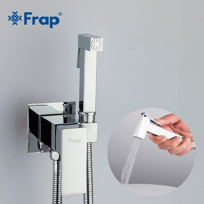 Frap Bidet Wasserhahn Messing Dusche Tap Washer Mixer Muslimischen Ducha Higienica Cold & Hot Wasser Mischer Kran Platz Dusche Spray f7506