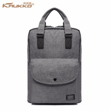 Knapsack Preppy Style Linen School Bags Hot Sale Fashion Simple the University Backpack for Teenager