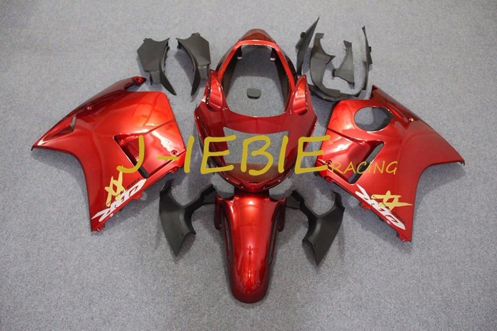 Red Injection Fairing Body Work Frame Kit for HONDA CBR1100XX CBR 1100 CBR1100 XX 1996-2007 1997 2000