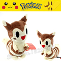 No.162 22cm HIgh Quality Japanese Anime Dolls Furret Plush Toys Best Given Away Gifts Pokemon Mini Plush Toys For Baby