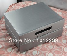 New aluminum amp chassis /home audio power amplifier case size Width 320 Depth 252 Height 74