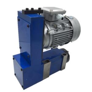 Image 4 - แกนหน่วย MT3 BT30 ER25 หัว 3000 RPM 8000 RPM 370W มอเตอร์ V Belt DRIVE สำหรับเจาะ CNC Milling แกะสลัก