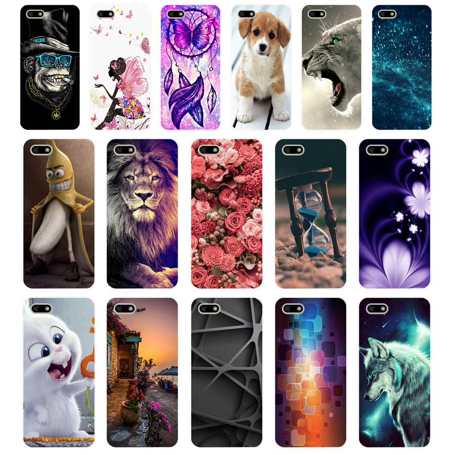Silicone-Case Coque-Bumper Back-Cover Huawei Honor Russian 7-A-Dua-L22 12 For Soft 7A
