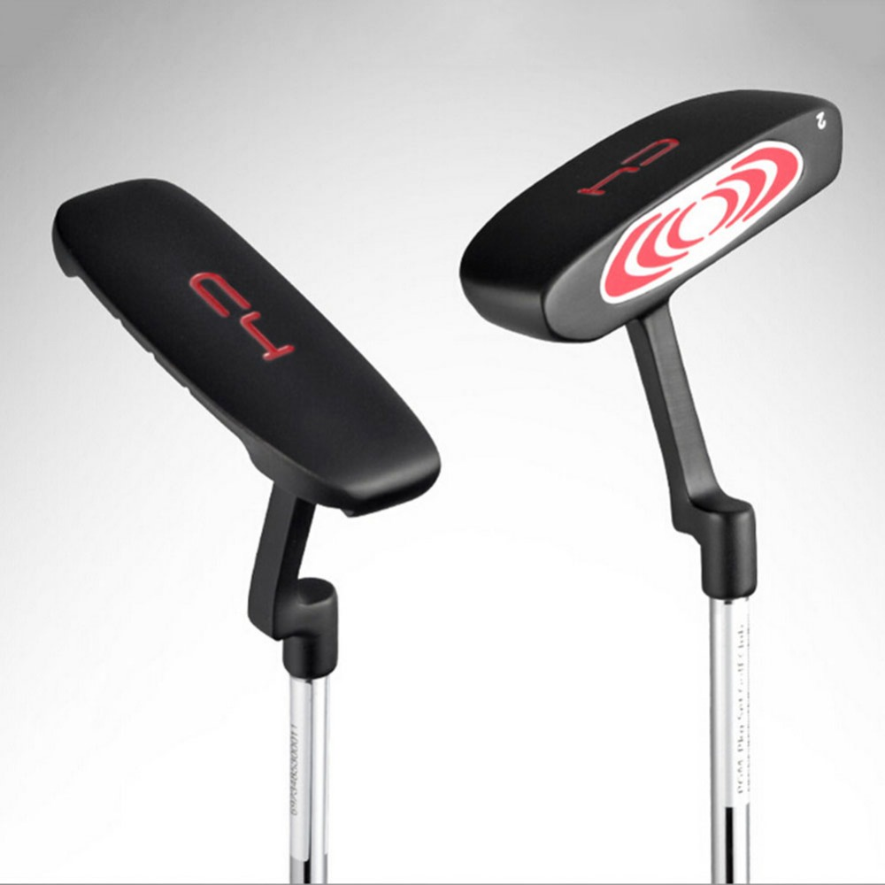 CRESTGOLF Stain Blade Golf Putter Inlägg Golf Club med färgstark gummi Golf Mallett Putter 2 #, 4 #, 5 # för val