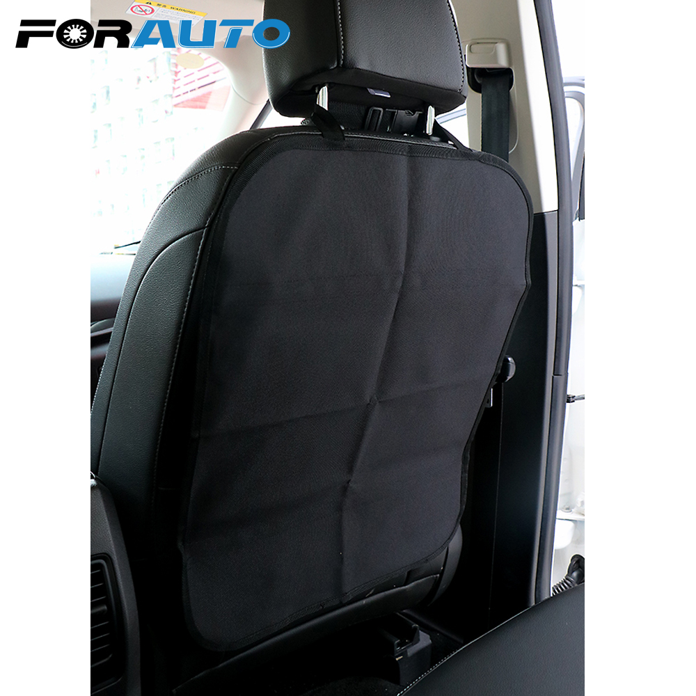 FORAUTO Car Seat Back Cover Protection from Children Baby Kicking Auto Seats Covers Protectors Protect from Mud Dirt