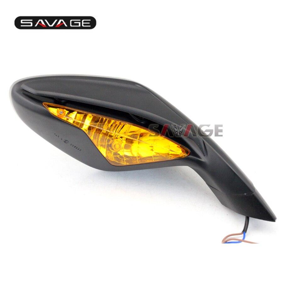 В МВ Агуста Ф3 800/675 2012-2014 мотоцикл правой стороны заднего вида заднего вида зеркала с сигналы поворота мигалка