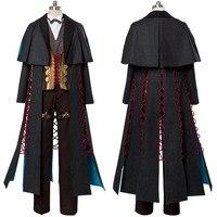 Sherlock Holmes Costume Fate Grand Order Cosplay Fate/GO FGO Costume Cosplay Costume Adult Men Women Full Set Custom Made