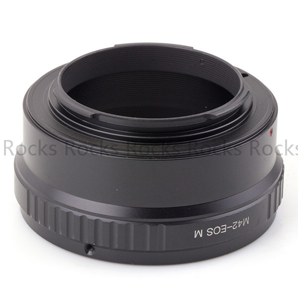 Pixco Lens Mount Adapter Suit For M42 Mount Lens to Canon EOS M EF-M M2 Mirrorless Camera Adapter Ring