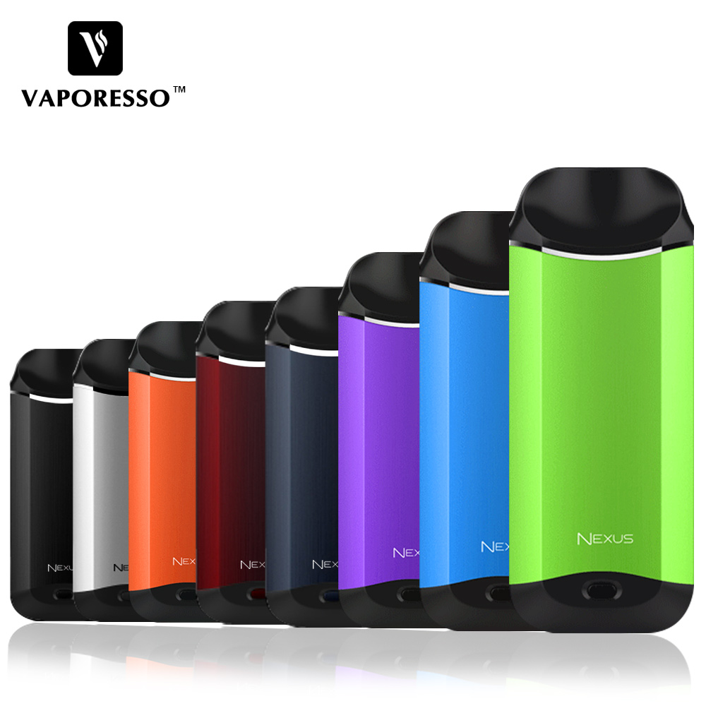 Vaporesso Nexus Starter Vape Kit con 650 mAh Batteria originale 2 ml In-Built Serbatoio Kit E-Sigaretta AIO Vaporizzatore VS Eleaf ijust s