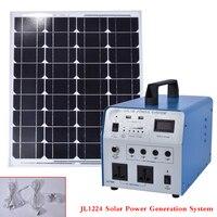 JL1224 Solar Power Generation System Alternative Energy Generators 350W Lighting System Generator With Solar Panels 630*540mm