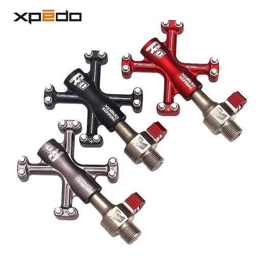 Wellgo QRD XCF05AC Quick Release Ultralight Bicycle Pedals 6061 Aluminum Forged Road Bike Pedals Mountain Bike