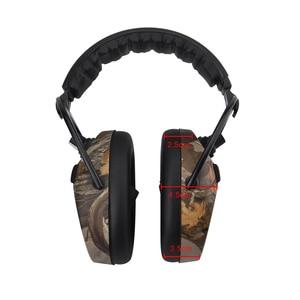 Image 4 - Protear อิเล็กทรอนิกส์ป้องกันหูการล่าสัตว์หู Muff พิมพ์ยุทธวิธีหูฟัง Hearing หูฟังป้องกันหูฟังสำหรับล่าสัตว์