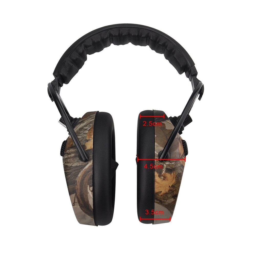 Электронные Наушники Protear, защита ушей для стрельбы, охоты, наушники с принтом, тактическая гарнитура, защита слуховых ушей, наушники для охоты-3