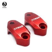 DTRAD CNC Racing Universal BREMB0 RCS Master cylinder clamp ZX10R Z750-Z800-Z900-1000 MT07/09-10 R1 R6 S1000RR TMAX XDiavel