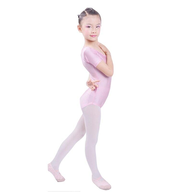 dabdd08be Dropwow 2017 Girls Ballet Bodysuit Children Blue White Dance Leotard ...