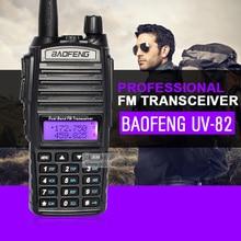 BaoFeng УФ-82 двухдиапазонная 136-174/400-520 МГц FM рация, трансивер, HT — с Аккумулятором, Антенной и Зарядным устройством