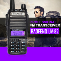 Baofeng uv-82 de doble banda walkie talkie 136-174 400-520 mhz vhf uhf estación de radio de jamón de radio amateur radio portátil walkie talkie