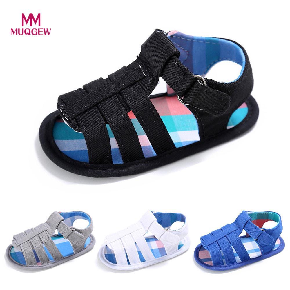 2018 new arrival fashion summer Baby Infant Kids Girl boys Soft Sole Crib Toddler Newborn Sandals Shoes sandalias de verano del
