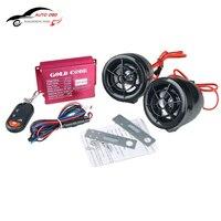 Bezprzewodowy Pilot Motocykl System Car Audio Głośniki Dźwięku Głośnik Radio FM USB SD Systemy Alarmowe zabezpieczenia przed kradzieżą Motocykl MP3 Audio
