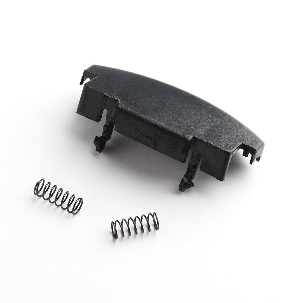 1x Black Car Auto Center Console Armrest Lid Repair Latch Clip Covers for VW Jetta Bora Mk4 Golf Black HM Wholesale steering wheel phone holder