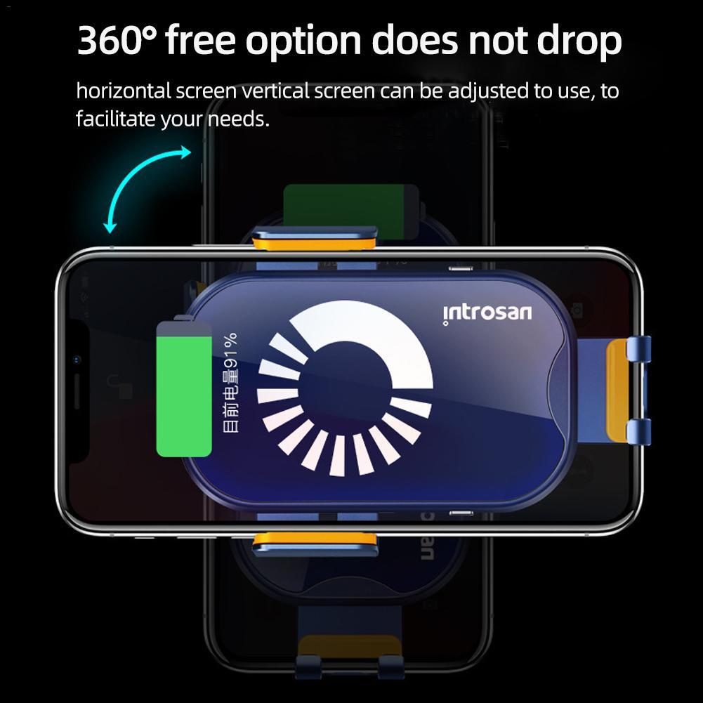 Chargeur de voiture sans fil 20 W chargeur rapide de voiture sans fil pour Mi 9 Iphone X XS Sumsang