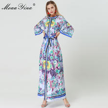 Женское платье с широким рукавом moaayina дизайнерское подиумное