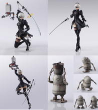2018 HOT PS4 Game anime figuur NieR Automaten YoRHa No.1 2 Type B 2B Cartoon Speelgoed figma Action Figure Collection model Pop(China)
