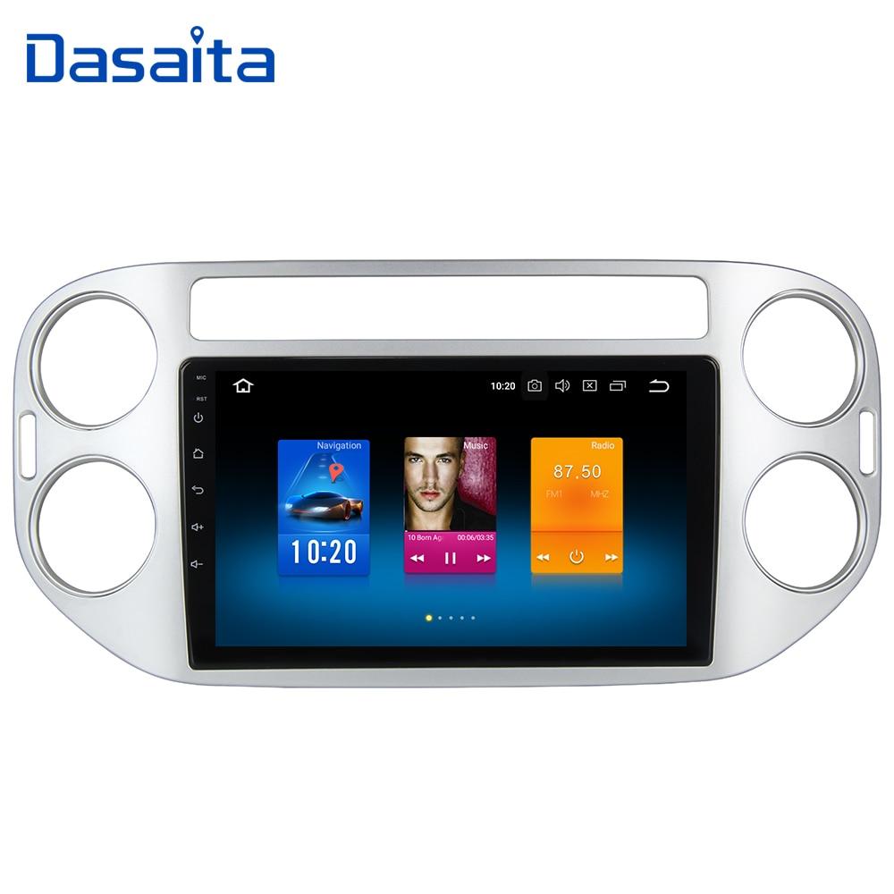 Dasaita 9 Android 9 0 Car GPS Radio Player for Volkswagen VW Tiguan 2010 2015 with