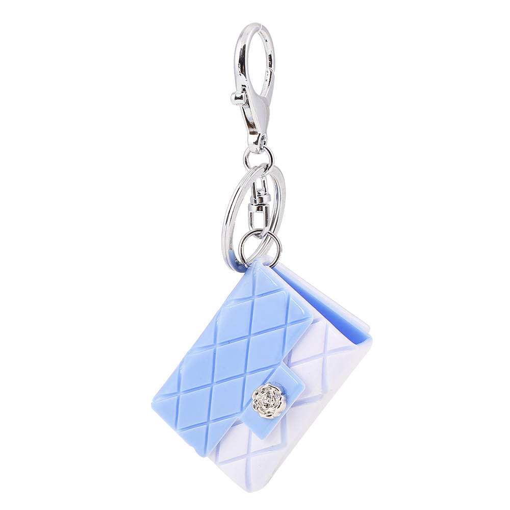 S.vex Fashion Keychain Keyring Bag Shaped Women Men Bag Car Accessories Fashion Key Chains Statement Handbag Jewelry