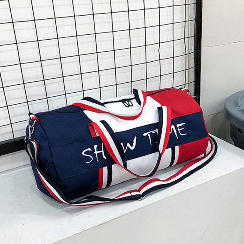 Bag Dry And Wet Separation Fitness Bag Cylinder Waterproof Travel Portable Sports Bag Sport Bolsa Tassen Tas Gym Bag
