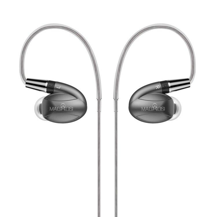 bilder für 2017 MaGaosi K3 PRO Mit Filter In Ohr Kopfhörer 2 BA Hybrid mit Dynamischen 3 Einheiten Ohrhörer Verbesserte K1 Mit MMCX Schnittstelle Headset