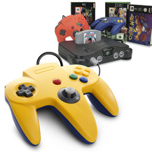 Ретро N64 игровой контроллер длиной, проводной геймпад для классической 64 системы джойстик